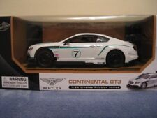 BENTLEY continental, GT3 1:24 licensed friction series car