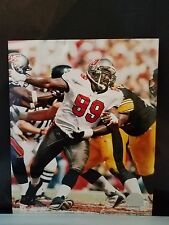 Warren Sapp #99 Tampa Bay Bucaneers 8 X10 Photo file