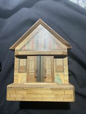 New ListingWooden House Bank
