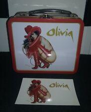 Olivia De Berardinis Pin Up Tin Lunchbox Double Sided Dark Horse Comics NEW '00