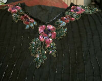 Vintage Extra Large Beaded Top Size 16/18/20