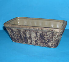Vintage Vitryware Stoneware Pottery - Attractive Abstract Design Oblong Planter.