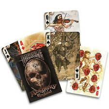 New Alchemy 1977 Piattaforma - Bicycle di Anne Stokes Poker Carte da gioco