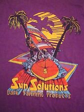 Vintage Myrtle Beach SC Wind Surfing Tanning Bro Tank Top Sleeveless T Shirt S