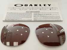 LENSES OAKLEY DROP IN OO9232 04 VR28 BLACK IRIDIUM REPLACEMENT LENSES LENTI LENS