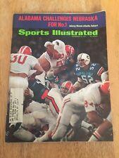 Vintage Sports Illustrated JOHNNY MUSSO ALABAMA On Cover December 1971