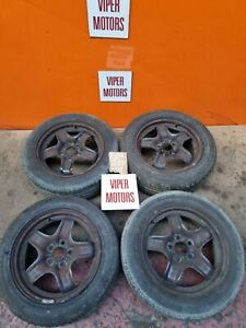 """Vauxhall Astra H Mk5 Zafira B 16"""" 16 Inch Shaped Steel Wheels and Tyres 2055516"""