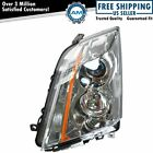 Left Halogen Headlight Headlamp Driver Side Lh For 08-14 Cadillac Cts