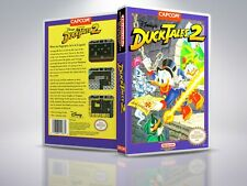 Disney's DuckTales 2 - NES - Remplacement - Cover/Case - NO Game - PAL/US