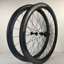 700C 50mm Depth Tubeless Carbon Wheel HK02 Hub Road Bike Wheelset UD glossy