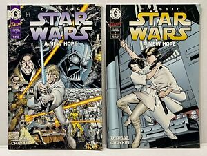 """Classic Star Wars Graphic Novel 1 & 2 Darkhorse Comics +9 Condition """"A New Hope"""""""