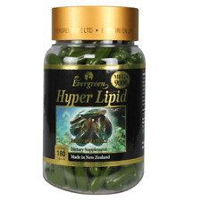 180 capsules Evergreen Hyper Lipid Green Lipped Mussel Made in New Zealand