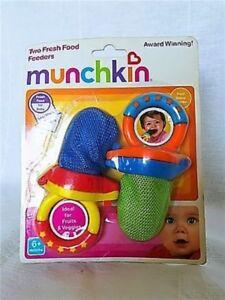 Munchkin Fresh Food Feeder--2count
