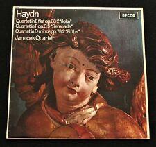 HAYDN Janacek Quartet UK Decca SXL 6093 ED1 1st pressing 1964 *MINT-* LP