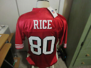 San Francisco 49ers Jerry Rice Jersey new wt
