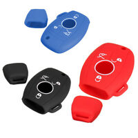 3 4 Button Silicone Remote Key Cover Case For MERCEDES Benz C E R CL CLK SLK 1PC