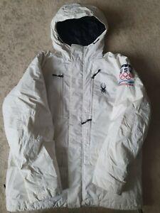 Men's Spyder Ski Jacket Size Medium - Large