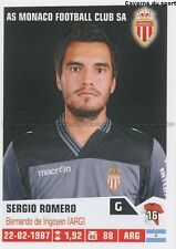 N°218 SERGIO ROMERO # ARGENTINA AS.MONACO STICKER FOOT 2014 PANINI