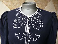 Tailleur Couture RETY Paris Londre Tokyo  ---  Bleu marine  --- T.36/38