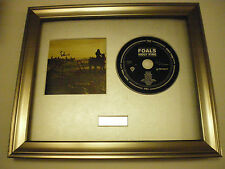 PERSONALLY SIGNED/AUTOGRAPHED FOALS - HOLY FIRE FRAMED PRESENTATION