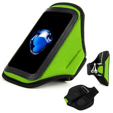 Green Waterproof Sports Running Jogging Armband Case Holder for iPhone 11 Pro XS