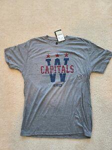 Washington Capitals 2015 Winter Classic CCM T-Shirt size XL