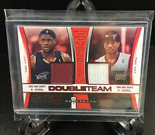 LeBRON JAMES / ALLEN IVERSON 2006-07 NBA Hot Prospects Double Team Patch /25