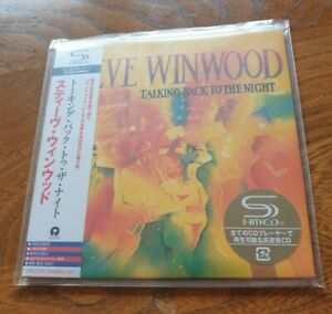 Talking Back To The Night by Steve Winwood SHM CD album Limited UICY-93691 Japan