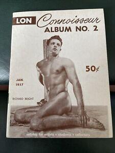 Rare Connoisseur Album 2 January 1957 By Lon Gay Male Beefcake Magazine Digest