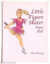 Vintage New 2001 Little Figure Skater Paper Dolls (Tom Tierney) Dover Book