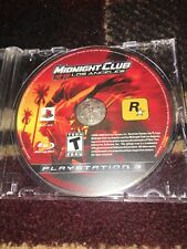Midnight Club: Los Angeles - South Central (Sony PlayStation 3, 2009)LOOSE DISC