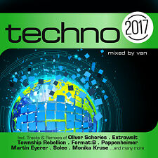 CD Techno 2017 von Various Artists 2CDs