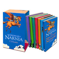 The Chronicles of Narnia Collection C.S. Lewis 7 Books Box Set Full Pack
