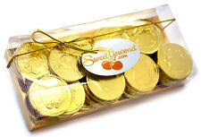 SweetGourmet Gold Milk Chocolate 50c Coins Candy, 10oz GIFT BOX -FREE SHIPPING!