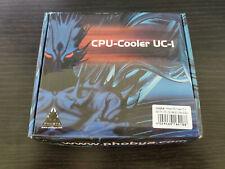 Phobya Intel CPU Cooler Water Block UC-2 Plexi Edition 10454