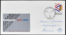 Netherlands 1969 Benelux Customs Union FDC First Day Cover #C49122