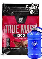 BSN Truemass 1200 4.8kg , Weight Gainer in CLEAN MASS & SIZE & WATER JUG!