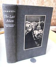 THE LAST ADAM,1933,James Gould Cozzens,1st Edition,DJ