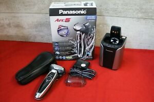 Panasonic ES-LV95-S Men's Wet/Dry Electric Shaver with Power Wash Dock, Used #U1