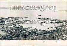 1940 Tanjung Perak Dutch Naval Base WWII Indonesia Press Photo