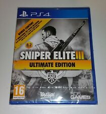 Sniper Elite III 3 Ultimate Edition PS4 brand new sealed UK PAL Sony Playstation