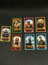 JUMANJI The Next Level Cinema Exclusive Trading Card - Complete Set of 7