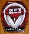 VIBE 750DJ Stereo Headphones (White) *New Factory Sealed*