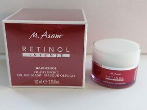 M.Asam  Retinol Intense  Gelmaske + 24 h Creme Neu