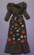 Vintage Barbie Doll Clothes - Mod Era Barbie 3343 Raining Flowers Dress