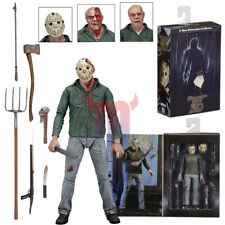"NECA Friday the 13th Part III 3D Jason Voorhees Ultimate 7"" Action Figure 1:12"