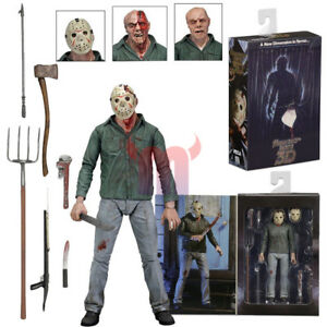 """NECA Friday the 13th Part III 3D Jason Voorhees Ultimate 7"""" Action Figure 1:12"""