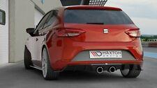 Seat Leon 5F Sportauspuff + Heckdiffusor Heckansatz Diffusor FR Facelift MK3 R32