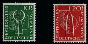 BRD postfrisch Briefmarkenausstellung Westropa Düsseldorf