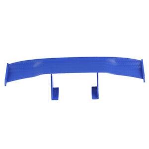 7'' Car Rear Tail Racing Wing Rear Spoiler Decoration Blue For Yamaha Honda BMW